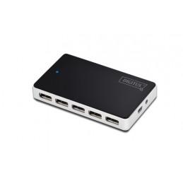 Digitus 10-Port USB 2.0...