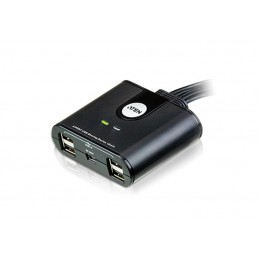 icecat_ATEN US424 4-Port USB 2.0 Peripheral Switch, USB-Hub, US424-AT