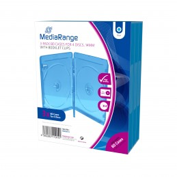 icecat_Media Range MediaRange BD-Leerhülle für 4 Discs 14mm blau, BOX38-4-30