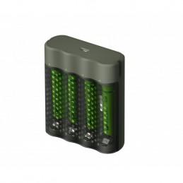 icecat_GP Battery GP ReCyko M451 100 4-Port USB Ladegerät inkl.4xAAA NiMh 950mAh, 130M451US100AAAC4