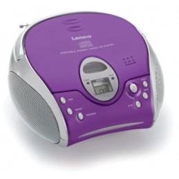 LENCO SCD-24 violett, SCD24PU