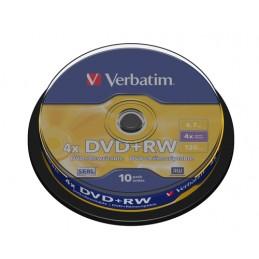 VERBATIM DVD+RW 4,7 GB,...