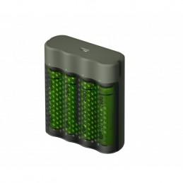 icecat_GP Battery GP ReCyko M451 270 4-Port USB Ladegerät inkl.4xAA NiMh 2600mAh, 130M451US270AAC4
