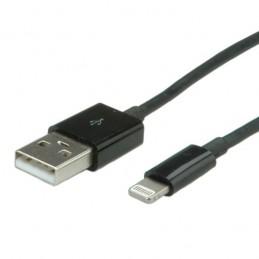 icecat_SCMP VALUE USB Sync-Ladekabel für Apple , mit Lightning-Connector 1,8m schwarz, 11998322