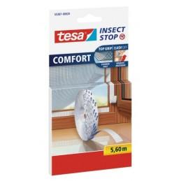 icecat_tesa Fliegengitter Comfort Klettband-Ersatzrolle 5,6m weiß, 55387-00020-00