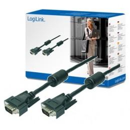 icecat_LogiLink VGA Cable 2xST black 2x Ferrit Core 15M, CV0017