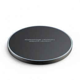 icecat_allocacoc Wireless Charger Aluminum black, 11023BK WLCGAL