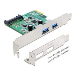 Delock PCIe USB 3.0 2 Port...