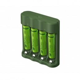 icecat_GP Battery GP ReCyko B421 85 4-Port USB Ladegerät inkl.4xAAA NiMh 850mAh, 130B421USB85AAAC4