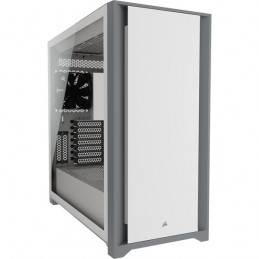 icecat_Geh CORSAIR Midi 5000D TG (Tempered Glass) White, CC-9011209-WW