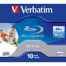 1x10 Verbatim BD-R Blu-Ray...