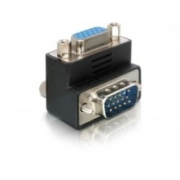 icecat_Delock Adapter VGA Stecker Buchse 90° gewinkelt, 65171