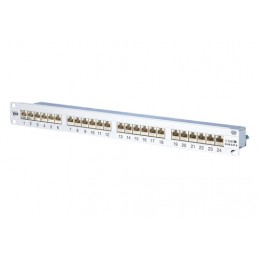BTR Patchpanel 1HE 24Ports...