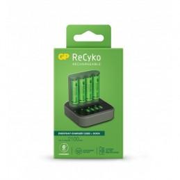 icecat_GP Battery GP ReCyko B4D45 4-fach LCD 4Port Docking St. + 4x AA NiMh 2100mAh, 130B421CD210AAC4